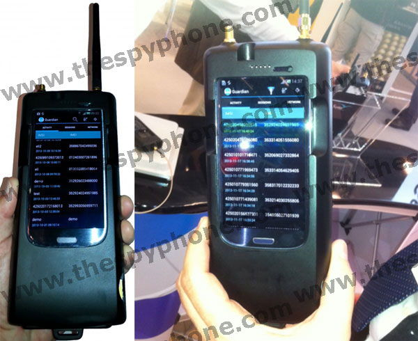 Portable Imsi Imei Catcher